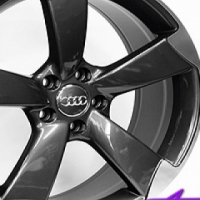 """19"""" RS3 Style 5/112 Gumetal Alloy Wheels"""