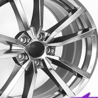 "18"" QS G7-R 5/112 Hyper Black Alloy Wheels"