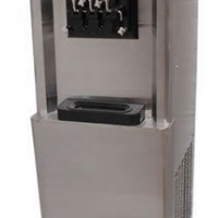 Ice Cream Machine, Floor Model BQ346P, 2 flavour with 1 mix