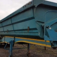 SA Truck Bodies 45m side tip interlink trailers