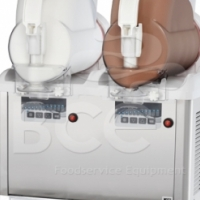 Gelato soft ice cream / Frozen yoghurt machine  (2 Bowl) - White