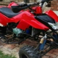 250 CC  No Limit Racing Quadbike