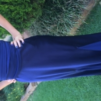 Royal Blue Evening Dress Size 34