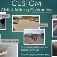 CUSTOM Civils & Building Contractors