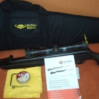 Hatsan Air Rifle with Scope and Bag