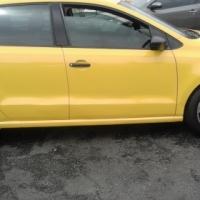 VW Polo 6 1.4 Model 2011 Colour Yellow 5 Door Factory A/C & MP3 Player
