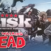Used, Risk 'The Walking Dead- Survival Edition' Boardgame for sale  Northern Suburbs