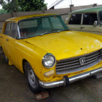 1967 Peugeot 404 For Restoration, with papers