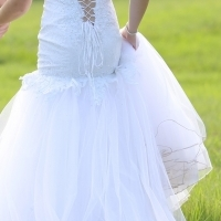 Wedding Dress for Sale - White Lace and Net for sale  West Rand