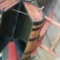 Wine Barrel Drinks Cooler / Ice Box