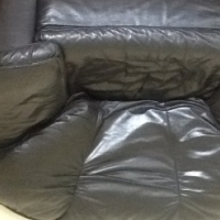 Genuine leather lounge suits
