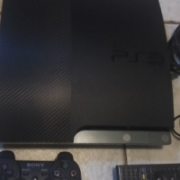 Playstation 3, 8 games and accessories for sale