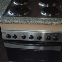 Devy Built-in hob and oven with cupboard