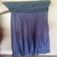 Grey Glittery Stunning evening gown - size 38