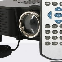 Multimedia HDMI Compatible LED Mini Data Projector Brand New From The Box with Accessories