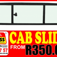 Bakkie rear cab slider special!