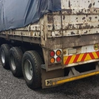 SA Truck Bodies Tri axle 14m + 1.2m dropsides