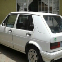 1999 Golf mk1(NO PAPERS) to swop for bike 400cc up
