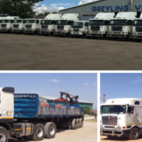 Transportation of building materials and general cargo.