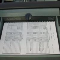 GBC USED Combo C-340 Manual Binder Machine