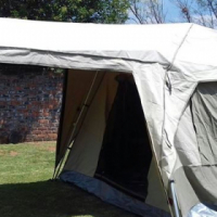 Camping trailer and extras for sale