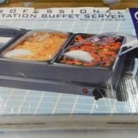 Sunbeam 3 Station Buffet Food Warmer