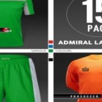 Admiral La Liga Team Kit