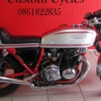 Very Scarce One of a Kind Honda Café Racer!