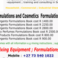 Chemicals Manufacturing Recipes Book for sale