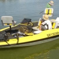 Pro-BASS fishing boat
