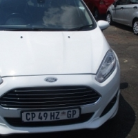 ford fiesta 1.4 sport ecobe 2013 Model,5 Doors factory A/C And C/D Player