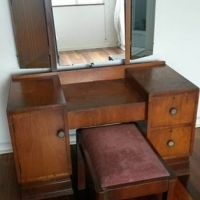 Dressing Table and Stool,