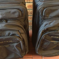 BARGAIN!!! 2 carry on bags with detachable back packs.