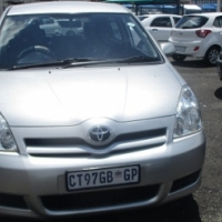 Toyota verso 1.8 Model 2006,5 Doors factory A/C And C/D Player