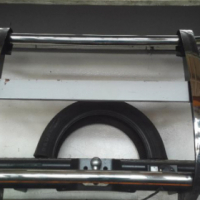 Brand new chrome bull bar to fit Toyota Hilux D4D for sale. R2500 negotiable