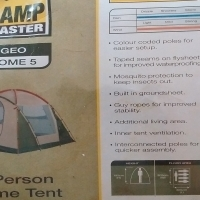 Camp Master 5 person dome tent