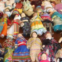Porcelain dolls of the world collection for sale