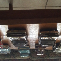 Big collection of model cars