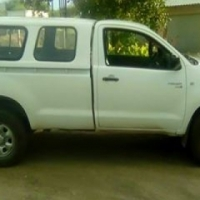 Hilux 2.5 2010 is in bitter mooi kondisie