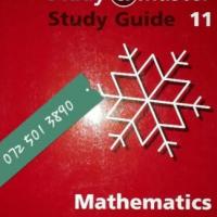 Mathematics - Study Guide 11 - Study & Master - Paul Carter, Daan Van Der Lith - Cambridge.