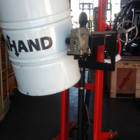 NEW DRUM LIFT AND ROTATING STACKER FOR SALE