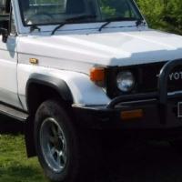 Toyota Land Cruiser 4.5 petrol