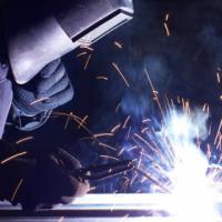 dump truck, tlb, welding training