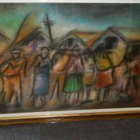 Joe Maseko Painting