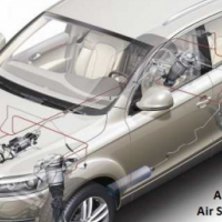 Audi Q7 Air Shocks on exchange