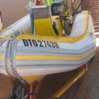 Gemini Rubber duck with 40HP Yamaha motor., used for sale  South Africa