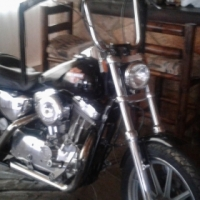 Harley Sportster 883 Delux
