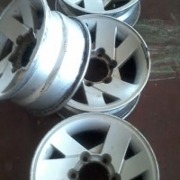 All rims on Special Bmw,Ranger,Hilux, Tyres also available if needed.
