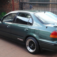Honda ballade v tec to swop for 4x4 bakkie