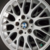 Bmw 325ci mags & tyres